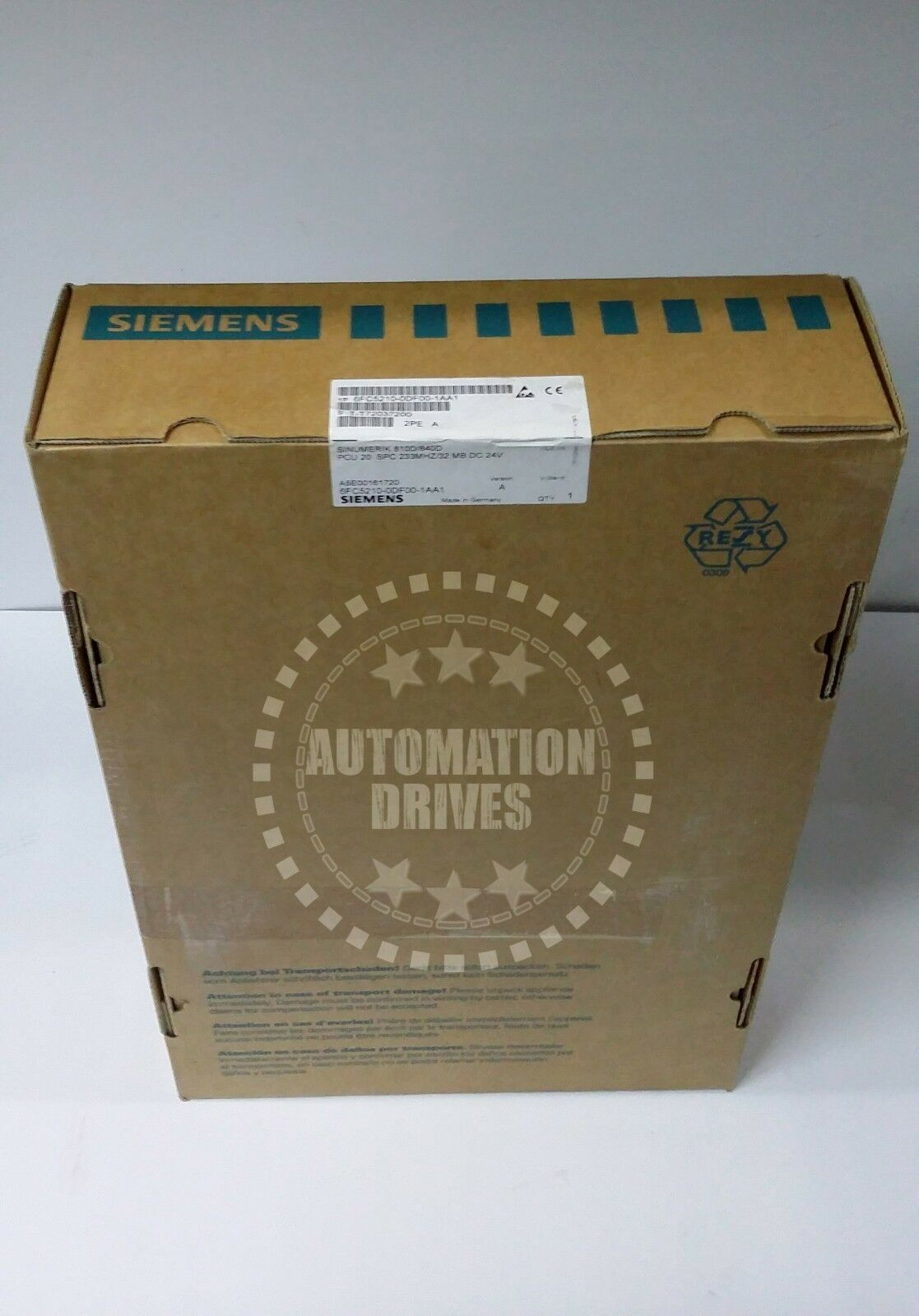 **NEW IN SEALED BOX** SIEMENS SINUMERIK PCU 20 810D/840D 6FC5210-0DF00-1​AA1 NIB