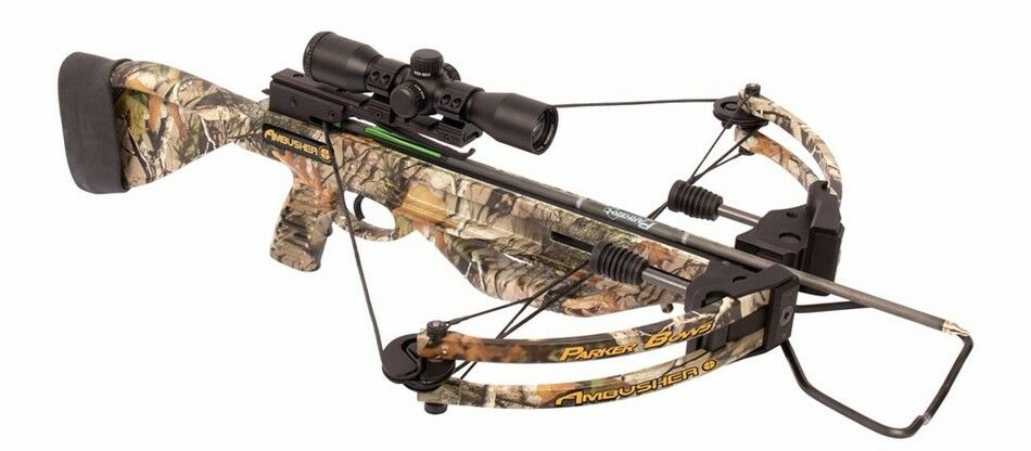 2018 Parker Ambusher Crossbow Package with 3x Pin Point Scope X310-PP