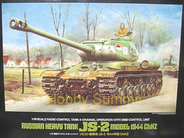 56035 Tamiya 1/16  R/C Russian  JS-2 Heavy Tank  Full--Option Soviet  WWII  NEW!