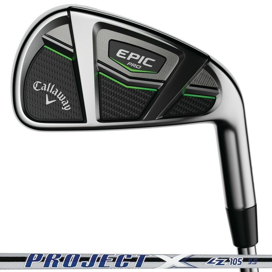 New 2017 Callaway Epic Pro Iron Set 4-PW PX LZ 105 Shafts - Pick Your Flex - RH