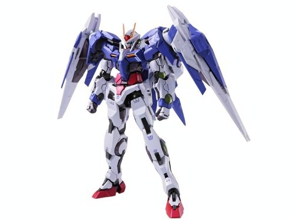 METAL BUILD Gundam 00 GN-0000 + GNR-010 00 RAISER Action Figure BANDAI Japan