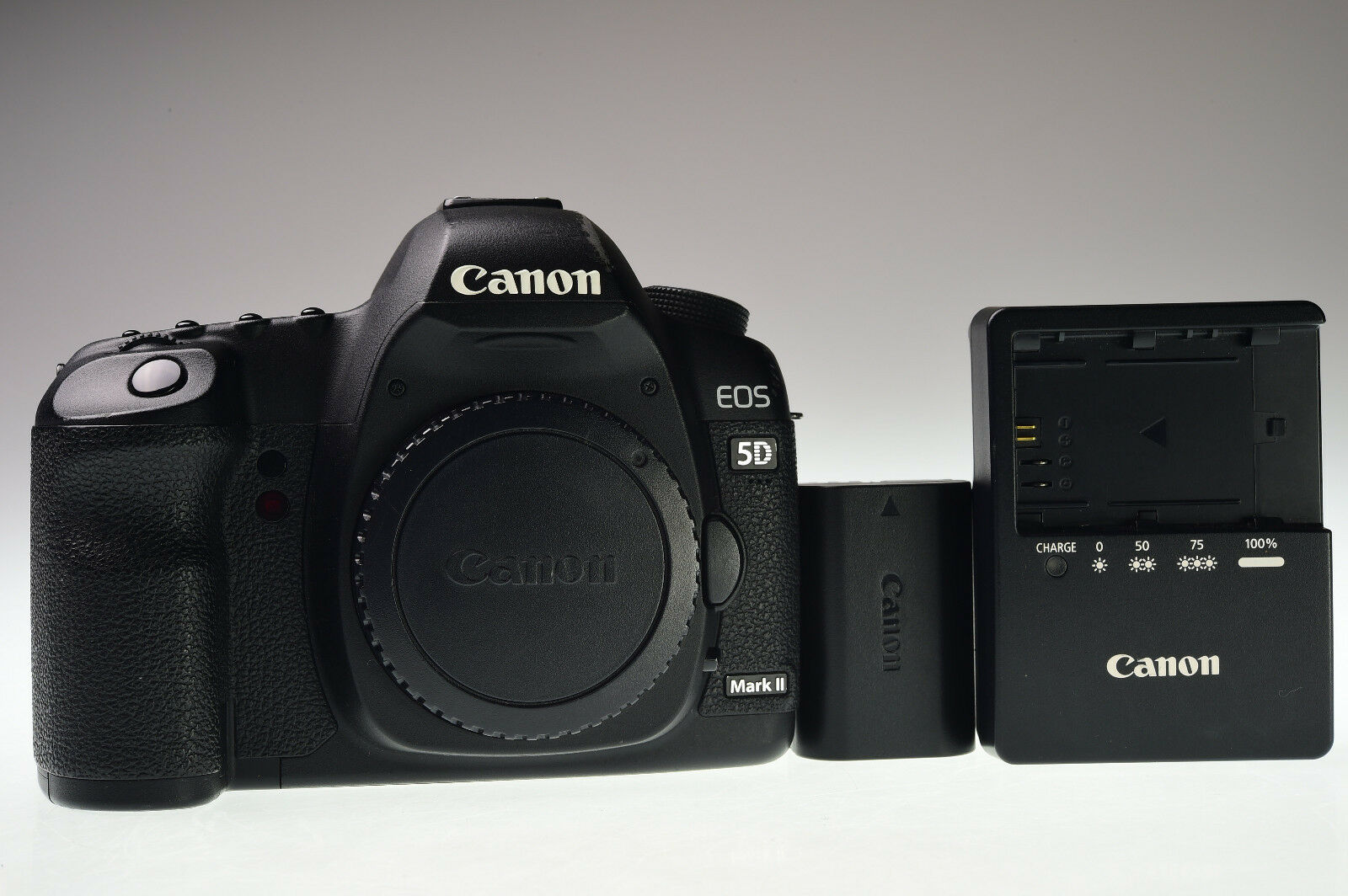 Canon Eos 5D Mark II Body 21.1MP Digital Camera Excellent