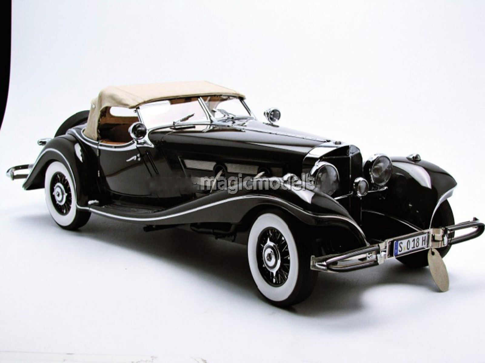 Bauer 1934 MERCEDES BENZ 500 K SPEZIAL ROADSTER LE of 2000 1/12 Scale HBS018H