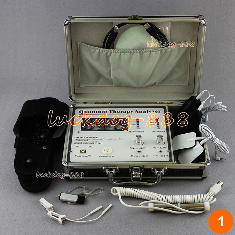 Dual Software 4th Quantum Sub Health Body Analyzer Magnetic Resonance Therapy