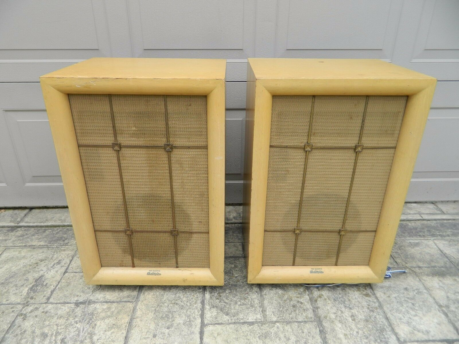 Vintage Mid Century Electrovoice Marquis Speakers