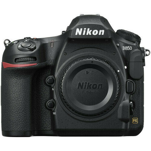 Nikon D D850 45.7MP Digital SLR DSLR FX-format Camera Body - Black Brand New