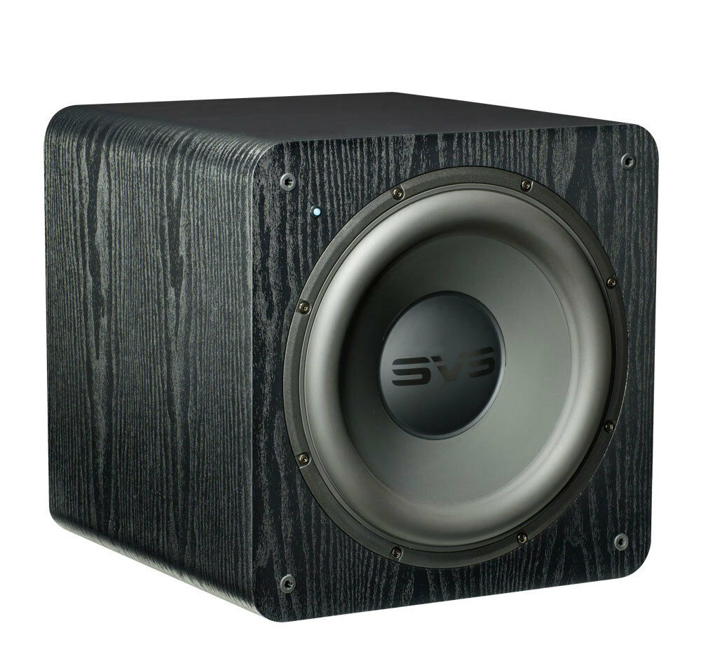 "SVS SB2000 Black Ash 12"" 500-watt Powered Subwoofer"