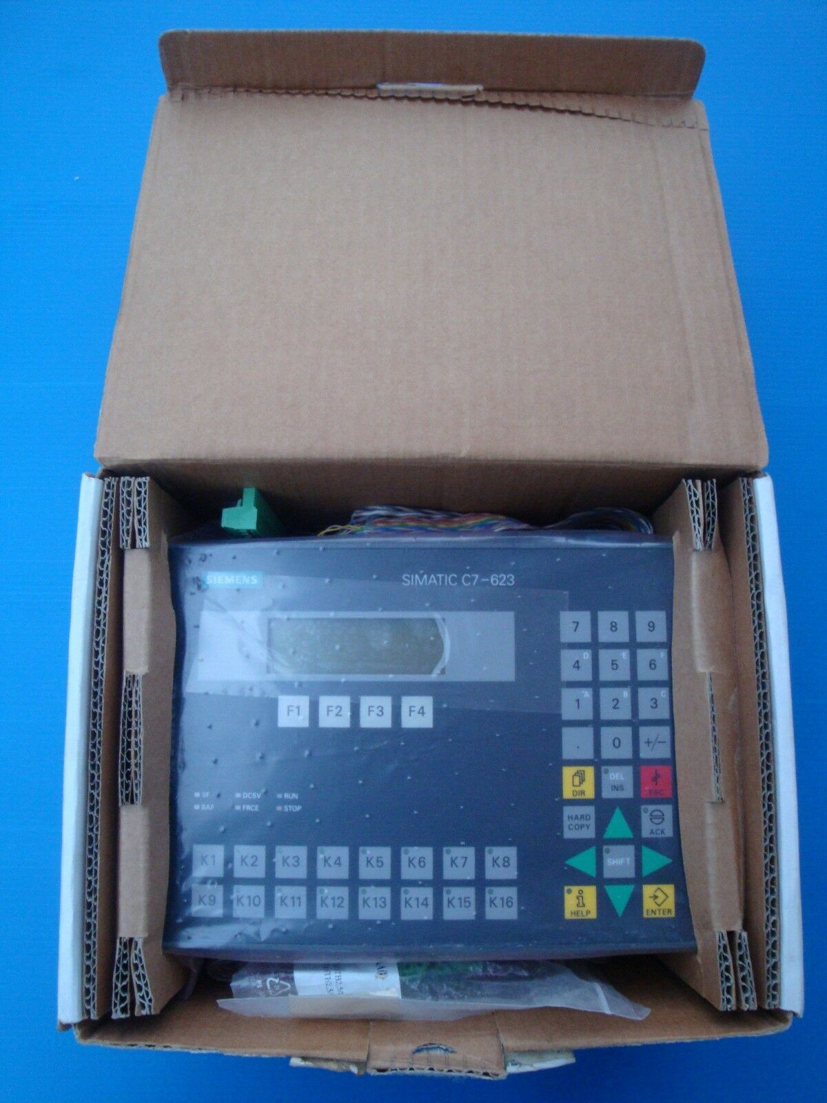 SIEMENS SIMATIC OPERATOR INTERFACE PANEL S7/300 C7-623 6ES7623-1AE00-0AE3