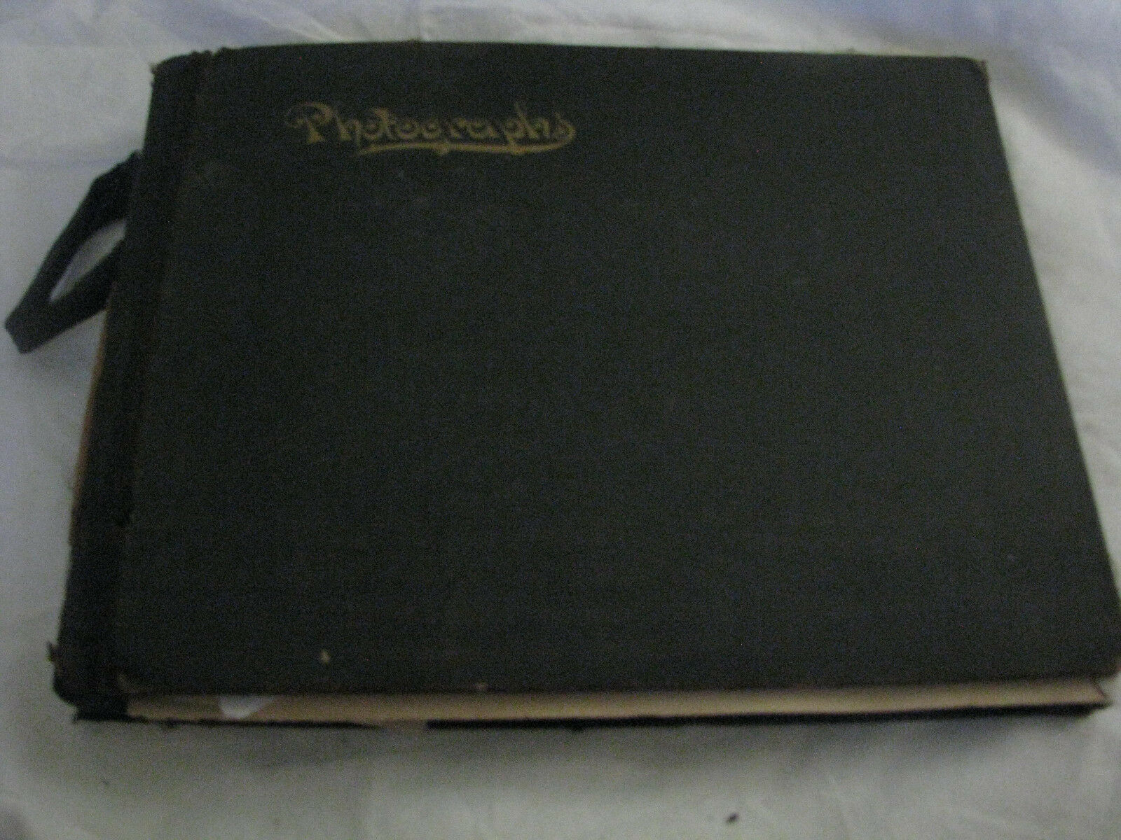 OLD PHOTO ALBUM BELIEVE TO BE OWNED BY L.P. MCCUISTION FOUNDER OF SANITARIUM PAR