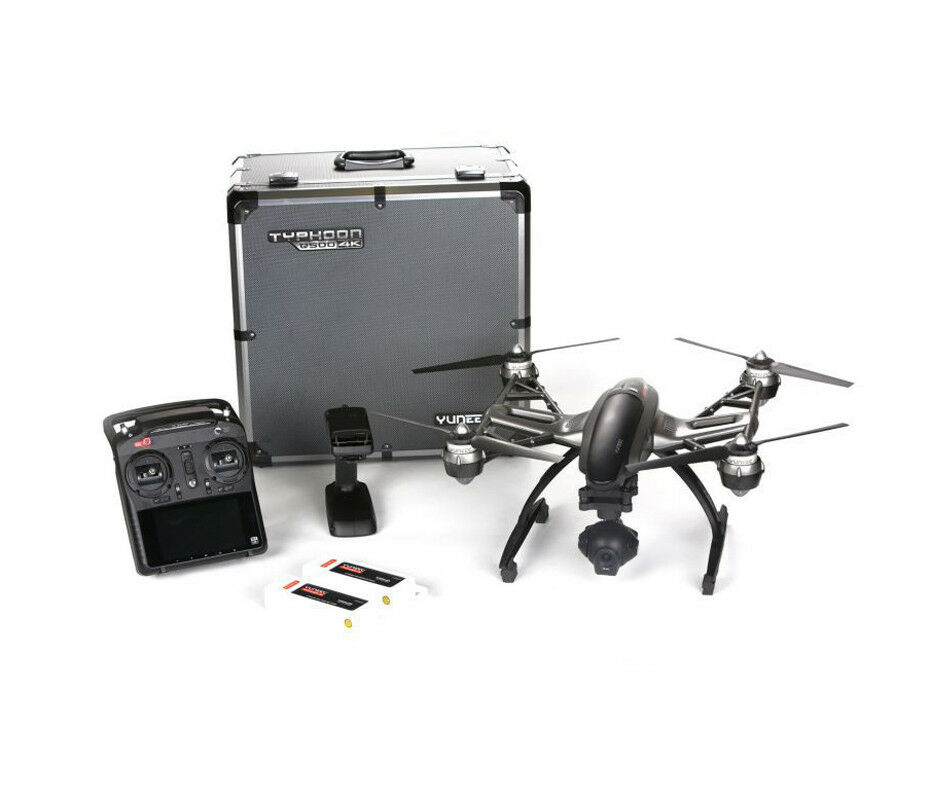 YUNEEC Q500 4K Typhoon Quadcopter Remote Control with Trolley Black #YUNQ4KTUS