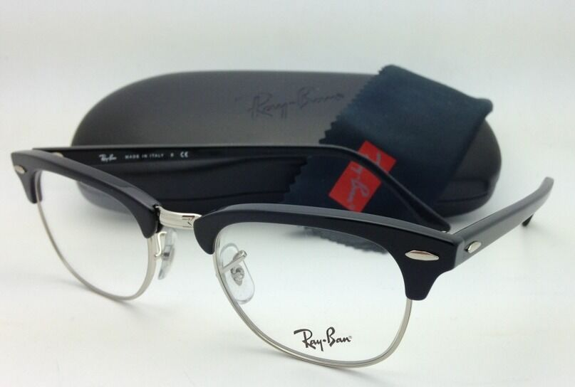 RAY-BAN CLUBMASTER Rx-able Eyeglasses/Frames RB 5154 2000 51-21 Black