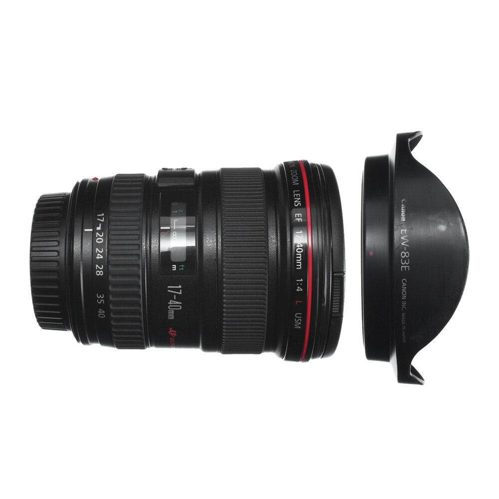 CANON EF 17-40mm F4 L USM WIDE ANGLE ZOOM LENS for 5DIII 5DS 6D EX++ / 90D WRT