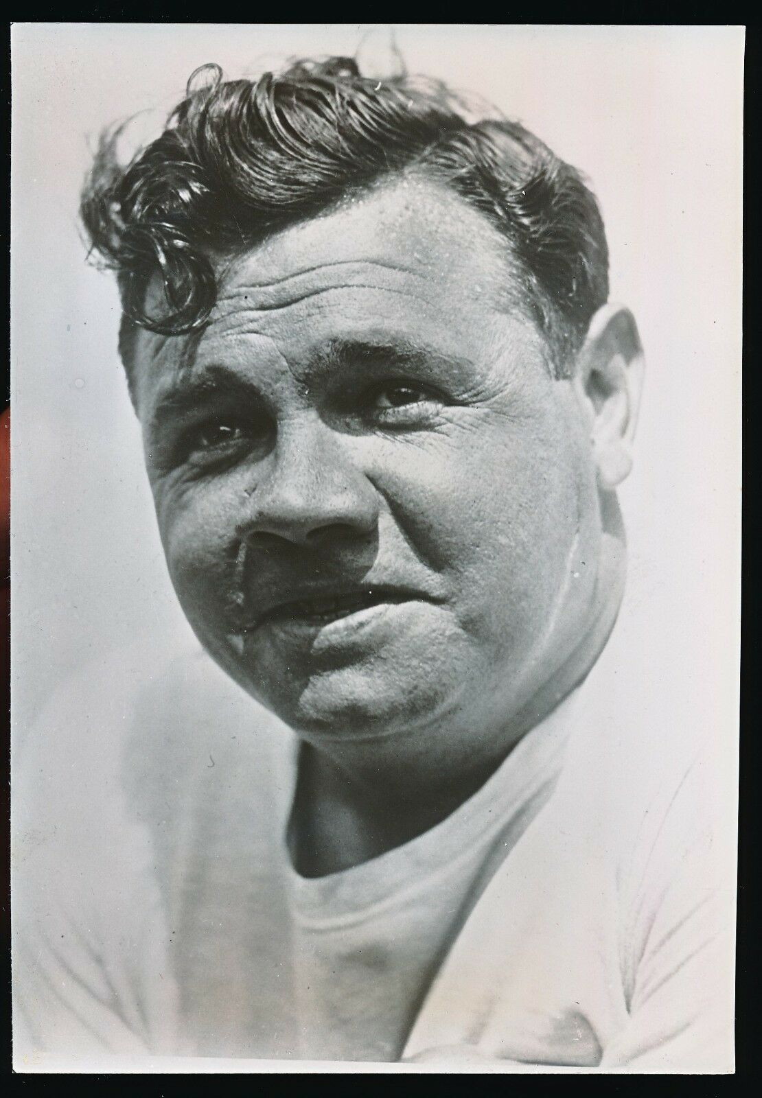BABE RUTH 1930s Type 1 German Photo By Keystone View PSA/DNA