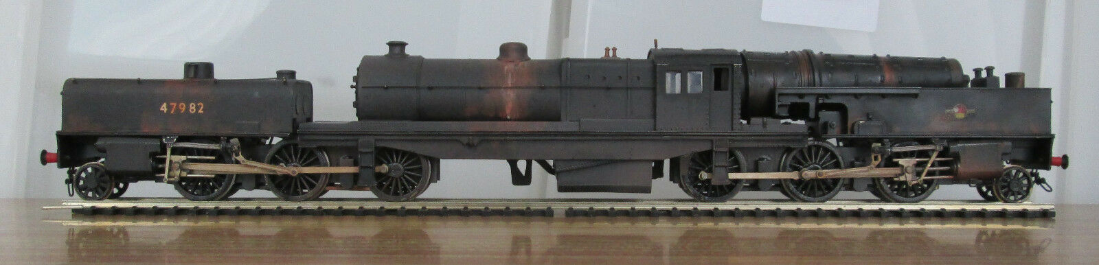 Keyser Garratt 2-6-0+0-6-2 built BR(LMR) ex-LMS 00 gauge loco metal kit