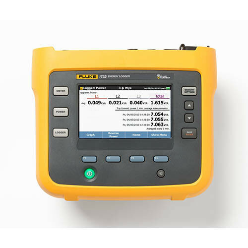 Fluke 1732/EUS Three-Phase Energy Logger with Flexible Current Probes