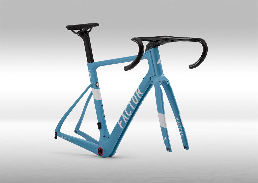 Factor One Road Bike Frame Size 54cm AG2R Team color