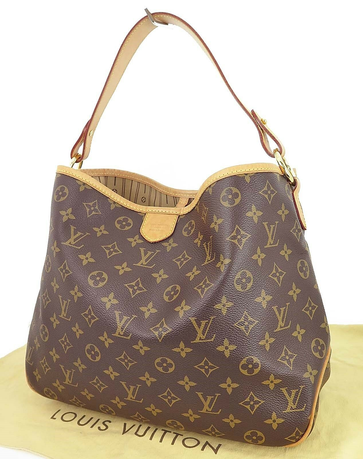 Authentic LOUIS VUITTON Delightful PM Monogram Shoulder Bag Purse #18980