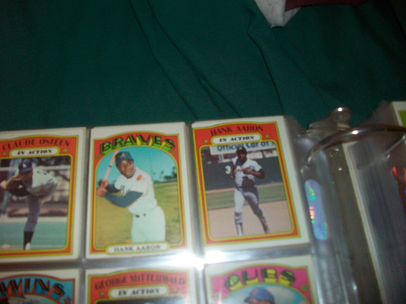 1972 Topps Baseball Partial set Ex-Nrmt (about 770 different)