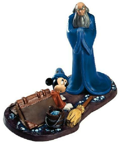 WDCC Walt Disney Classics Fantasia 2000 Yensid And Mickey #1201839 *NIB*