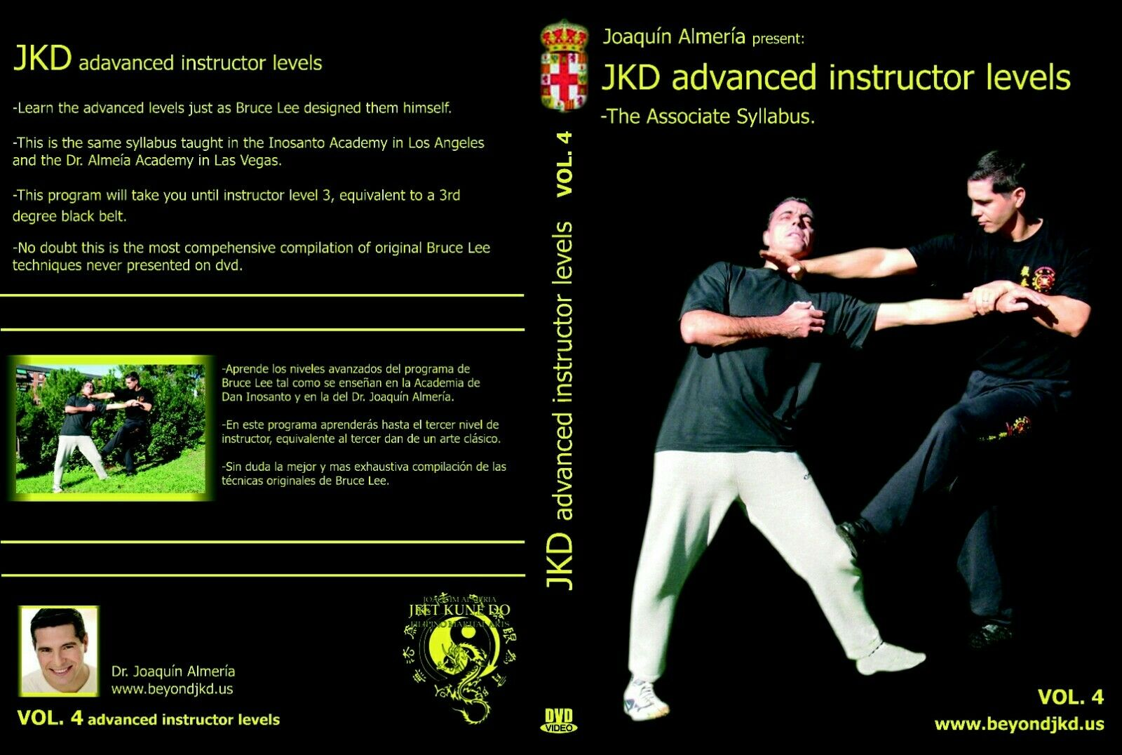 ADVANCED CERTIFICATION PROGRAM IN JEET KUNE AT MAESTRO LEVEL Joaquim Almeria