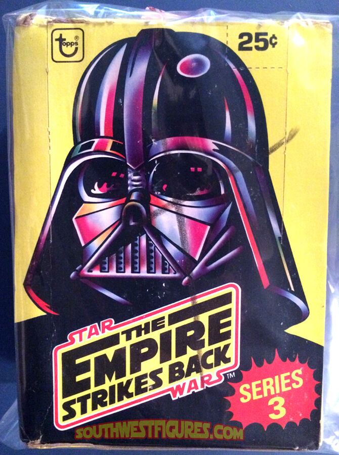 1980 Topps Star Wars Empire Strikes Back Wax Box (SR3 Complete) All 36x Packs