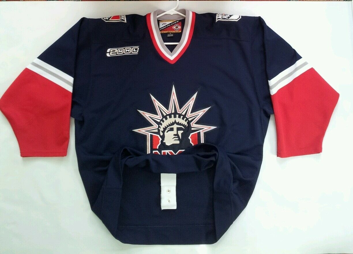 RARE PRO PLAYER AUTHENTIC CENTER ICE NY RANGERS