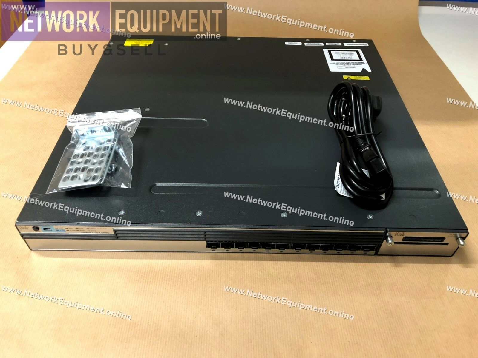Cisco WS-C3750X-12S-E 12 x SFP Gigabit switch, 10GB