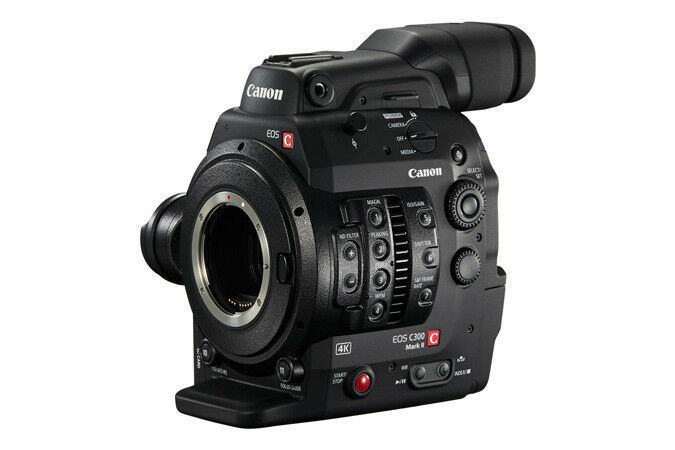 Canon EOS C300 Mark II RESTOCK Cinema EOS 4K Camera System with PL Mount