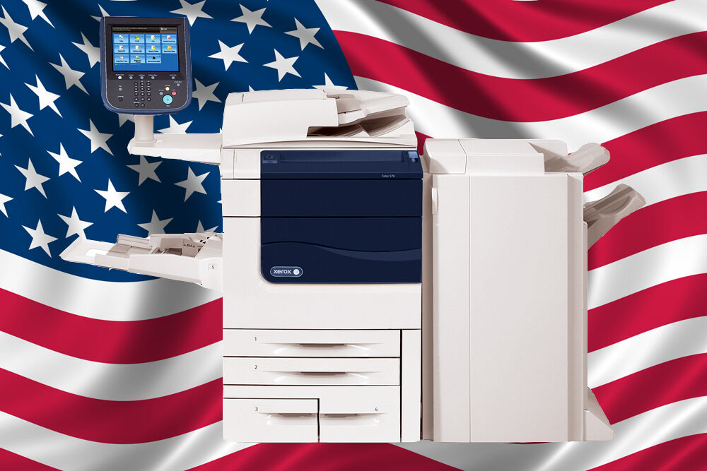 Xerox Color 560 Printer Color Copy, Print, Scan Staple Finisher