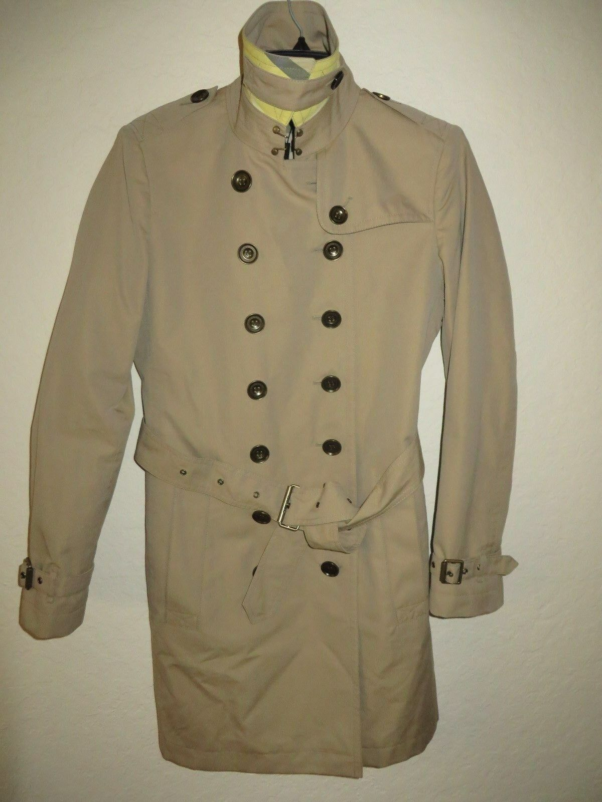 NWT Burberry Brit Women's Crombrook Trench Coat S US 10
