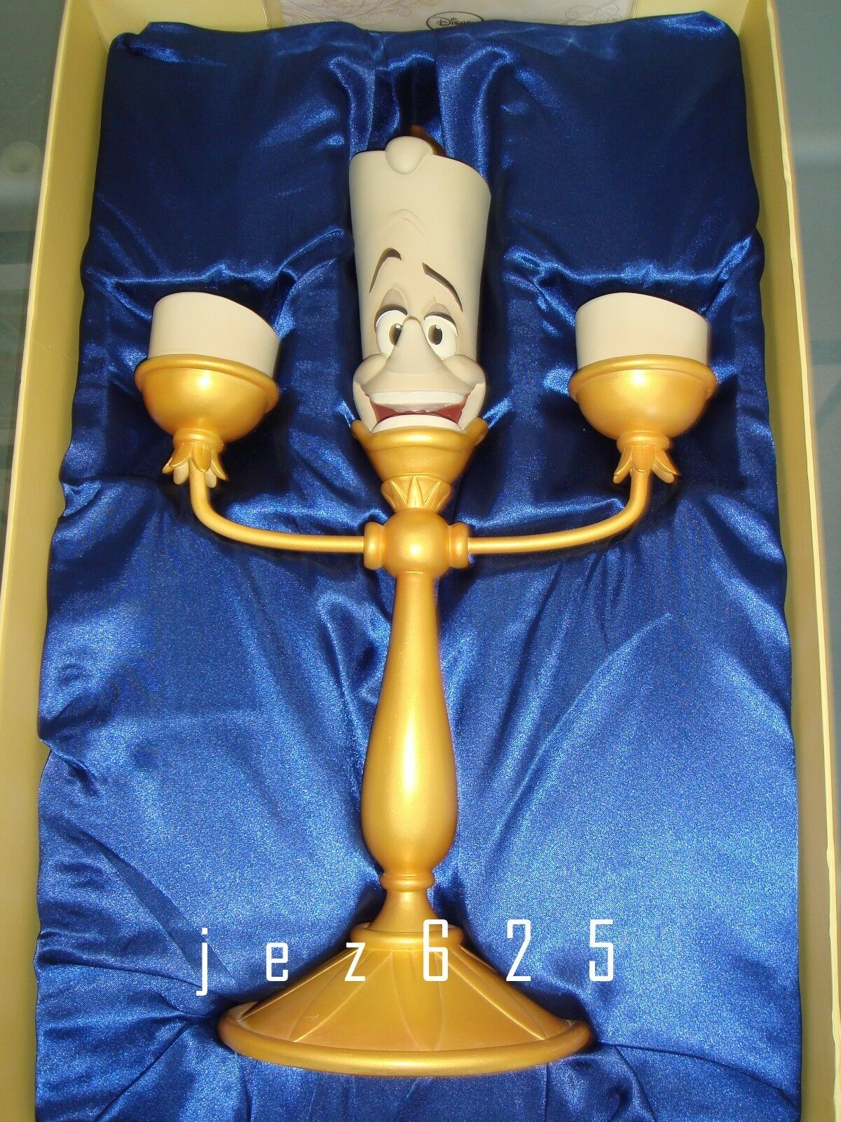 Disney Beauty and the Beast Light Up Lumiere Candelabra LTD 2000 NIB
