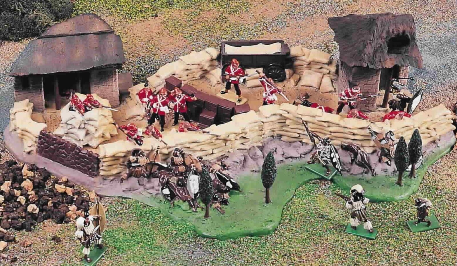 BRITAINS ZULU WAR  05198  RORKE'S DRIFT
