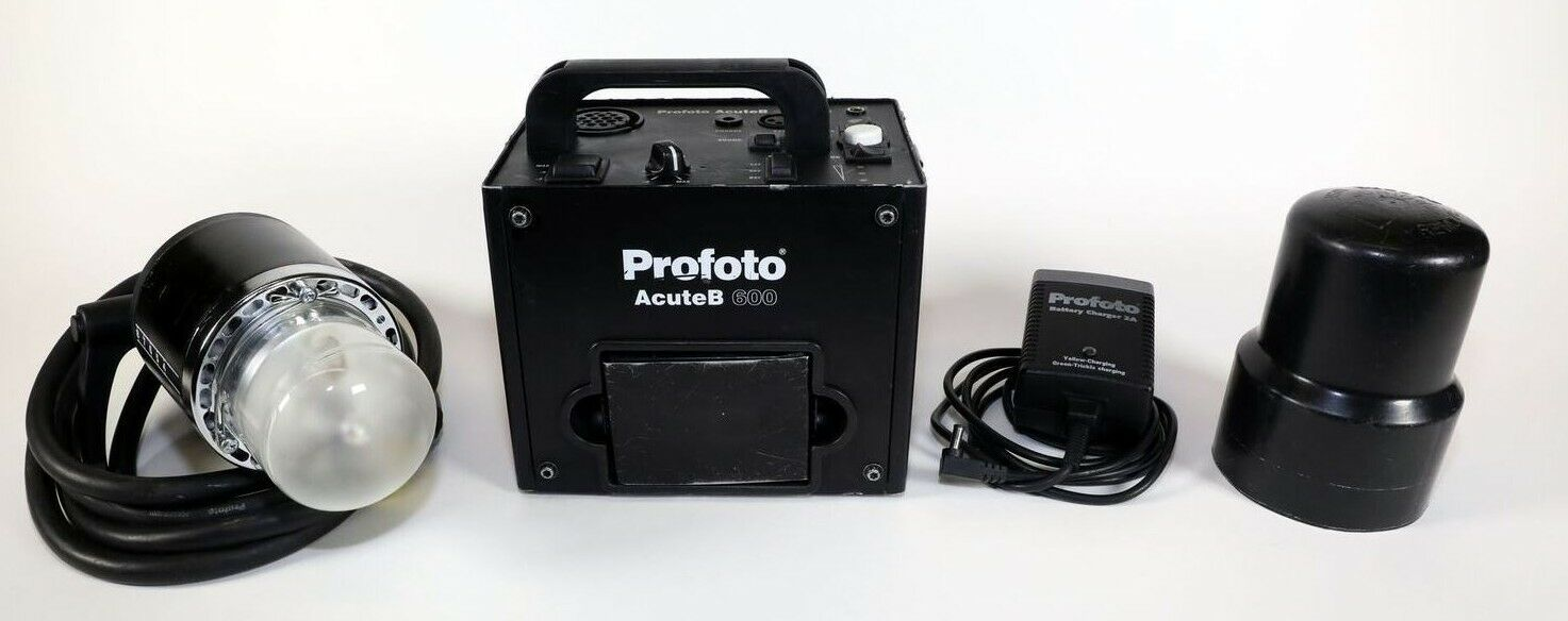 Profoto Acute B 600 Strobe With Head and Battery Kit
