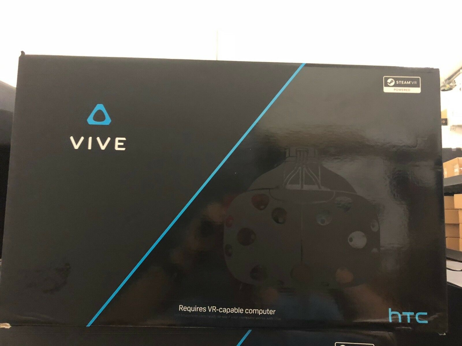 OB  HTC Vive VR Virtual Reality 3D Headset (99HAHZ024-00) _Newest Version