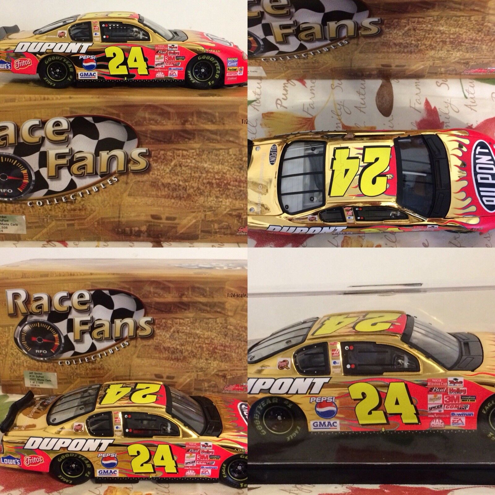 LOT OF 39 Jeff Gordon #24 Collectible 1:24 Scale Diecast Cars
