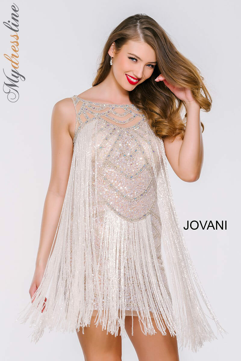 Jovani 41061 Short Cocktail Dress ~LOWEST PRICE GUARANTEE~ NEW Authentic
