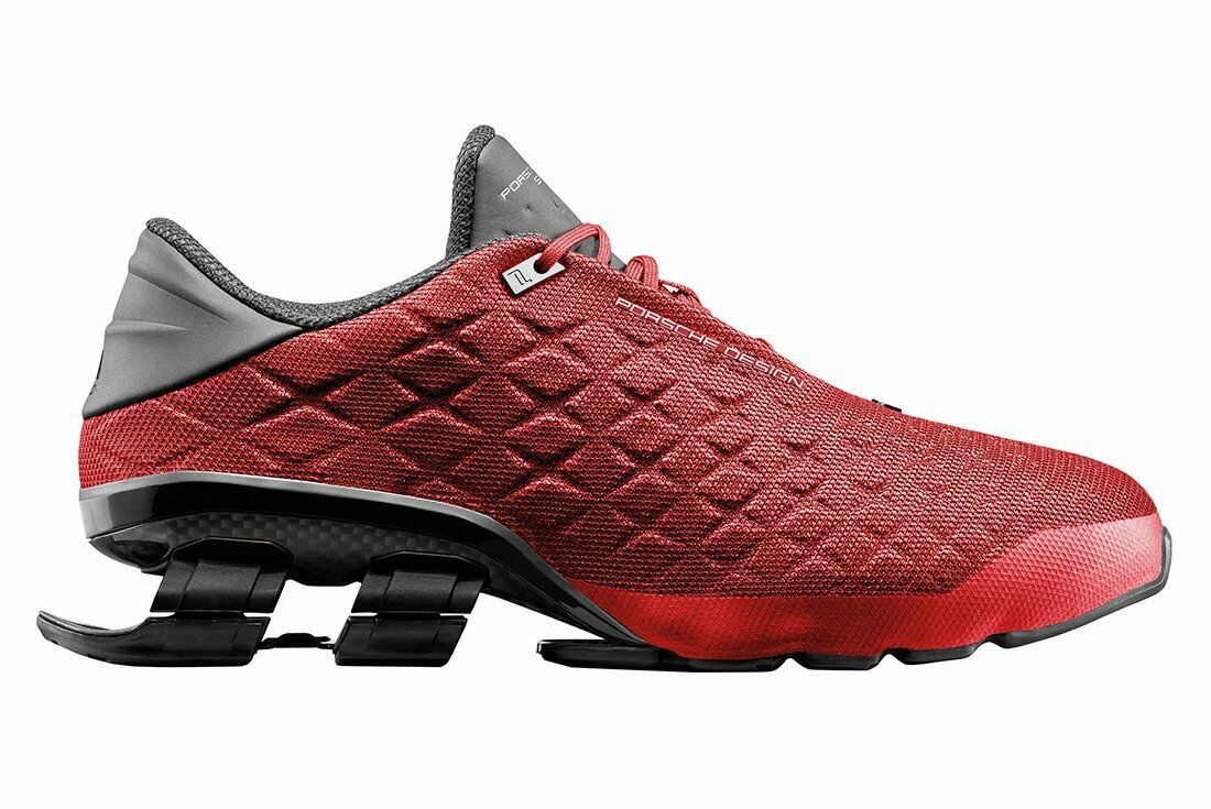 Adidas Porsche Design Sport Bounce Shoes S4 LUX II Mens Run Red BB0900