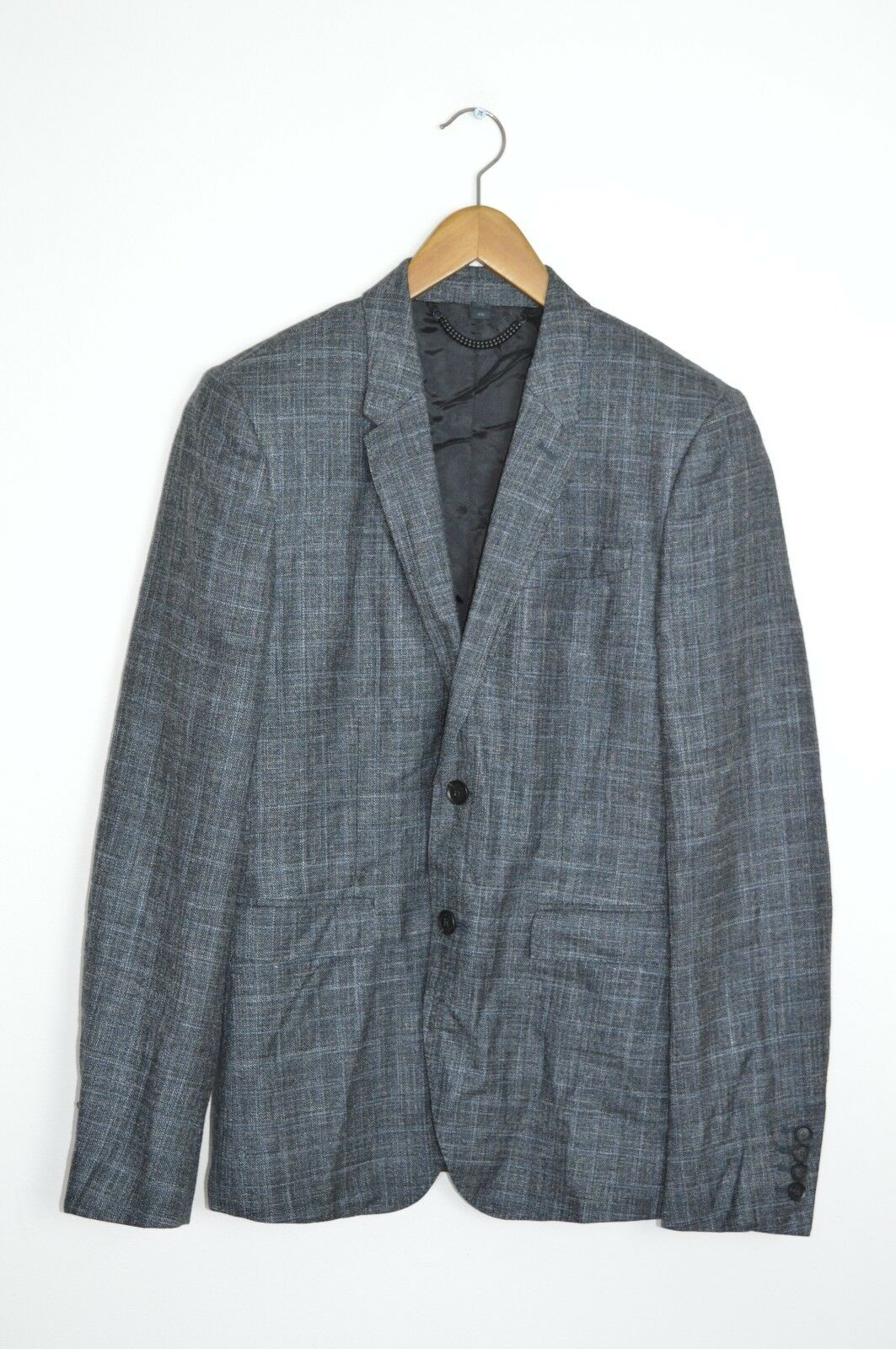 *AWESOME* BURBERRY PRORSUM Mens Wool/silk/linen tweed blazer Jacket SMALL 38