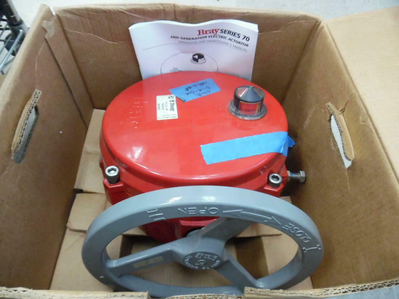 BRAY NYL2-C100 INDUSTRIAL ELECTRIC ACTUATOR FOR PARTS OR REPAIR