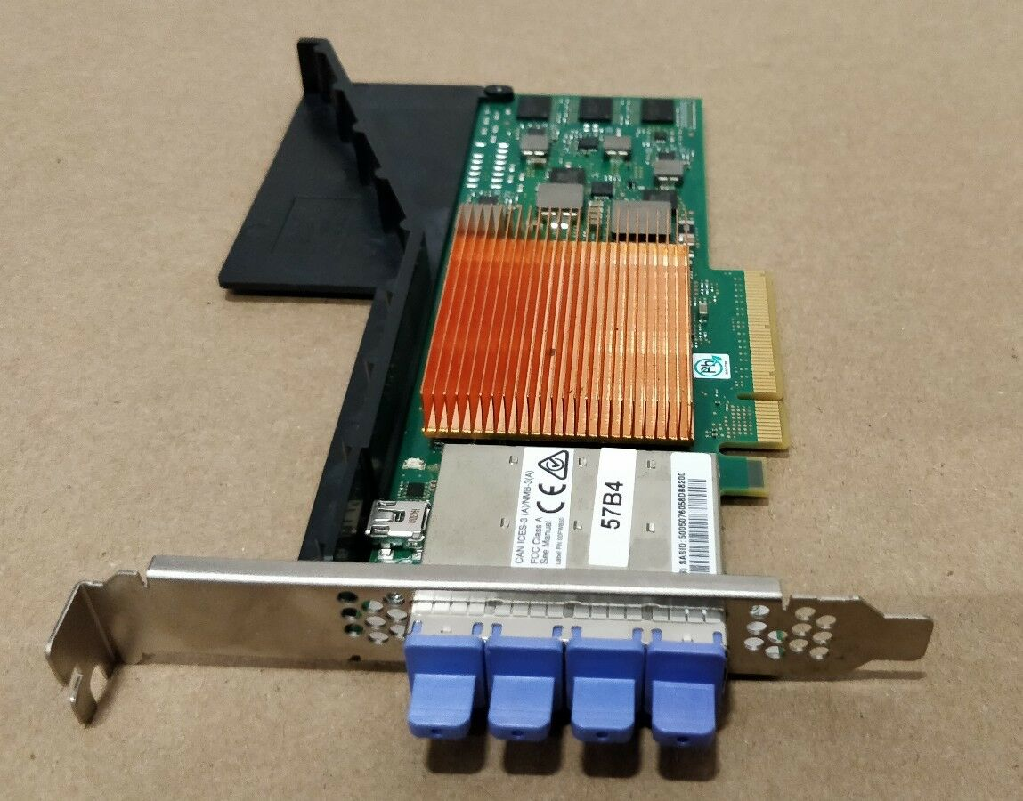 00MH935 IBM 57B4 6GB 4-Port SAS PCIe x8 RAID Adapter New OPEN BOX Free Shipping