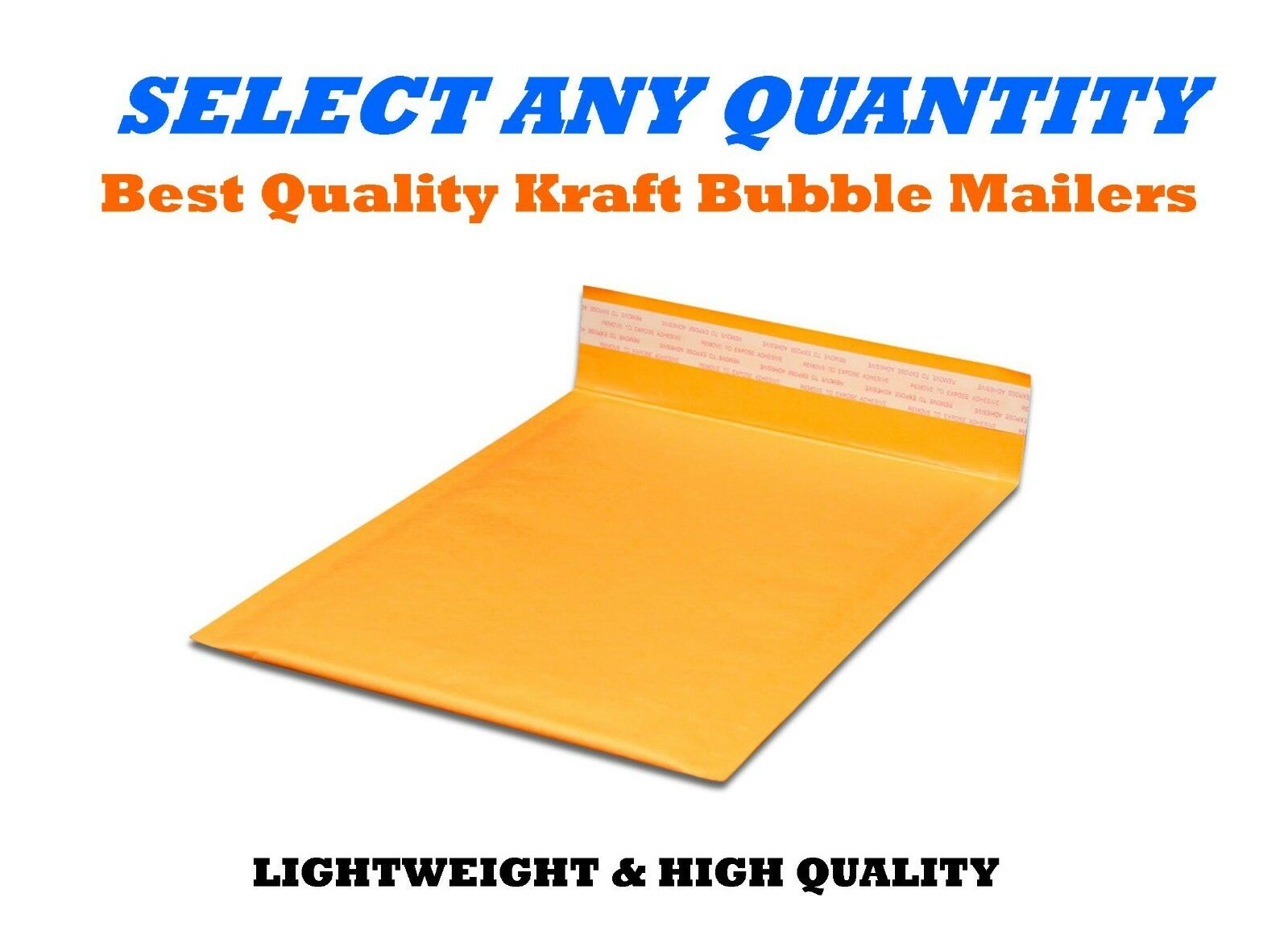 #4 9.5x14.5 KRAFT BUBBLE MAILERS SHIPPING MAILING PADDED ENVELOPES 9.5