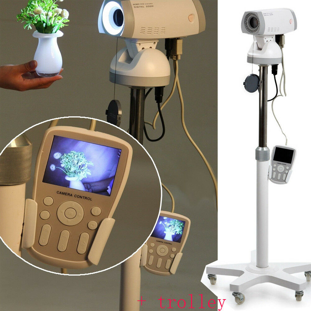 Digital 830,000 P Video Electronic Colposcope SONY Camera Gynaecology +Trolley