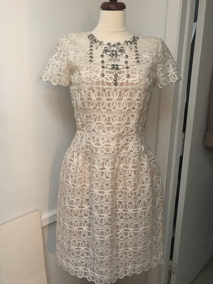 Oscar de la Renta Dress White BNWT Size 6