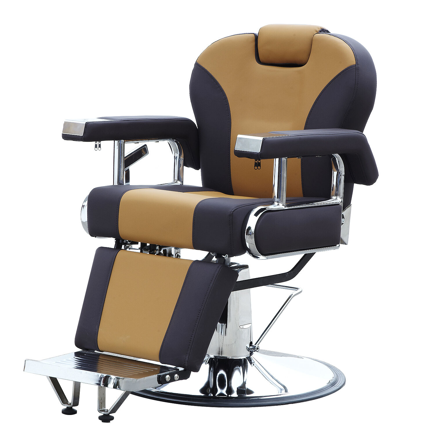 Reclining Hydraulic Barber Chair Salon Styling Beauty Spa Shampoo Equipment New