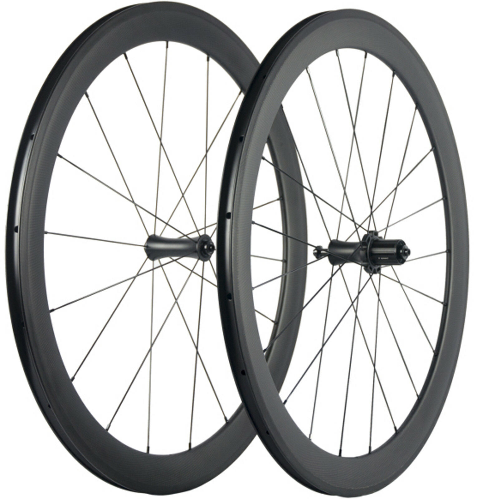 700C Tubelss Carbon Wheels 50mm Road Bike Wheelset 23mm UD Matte Bicycle Wheels