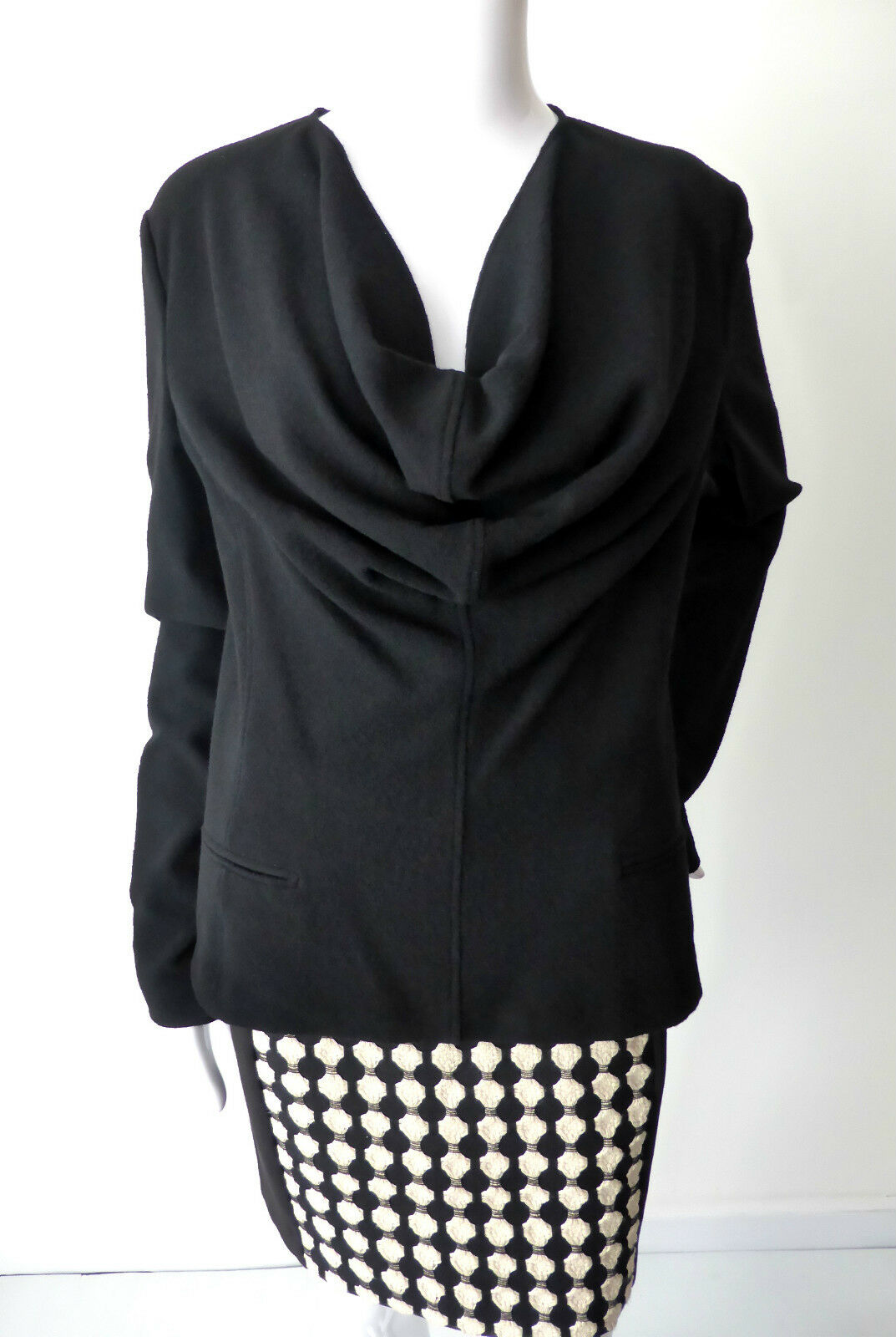 JEAN PAUL GAULTIER Long Sleeve Top  Made in Italy Size 10 - 12  IT 44 rrp $1973.