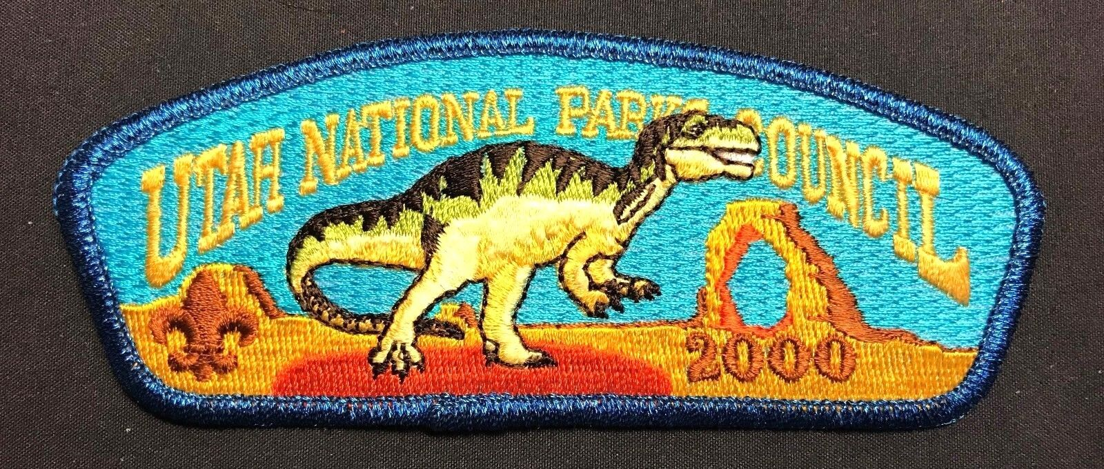 UTAH NATIONAL PARKS  COUNCIL OA TU-CUBIN-NOONIE LODGE 508 DINOSAUR ARCH 2000 CSP