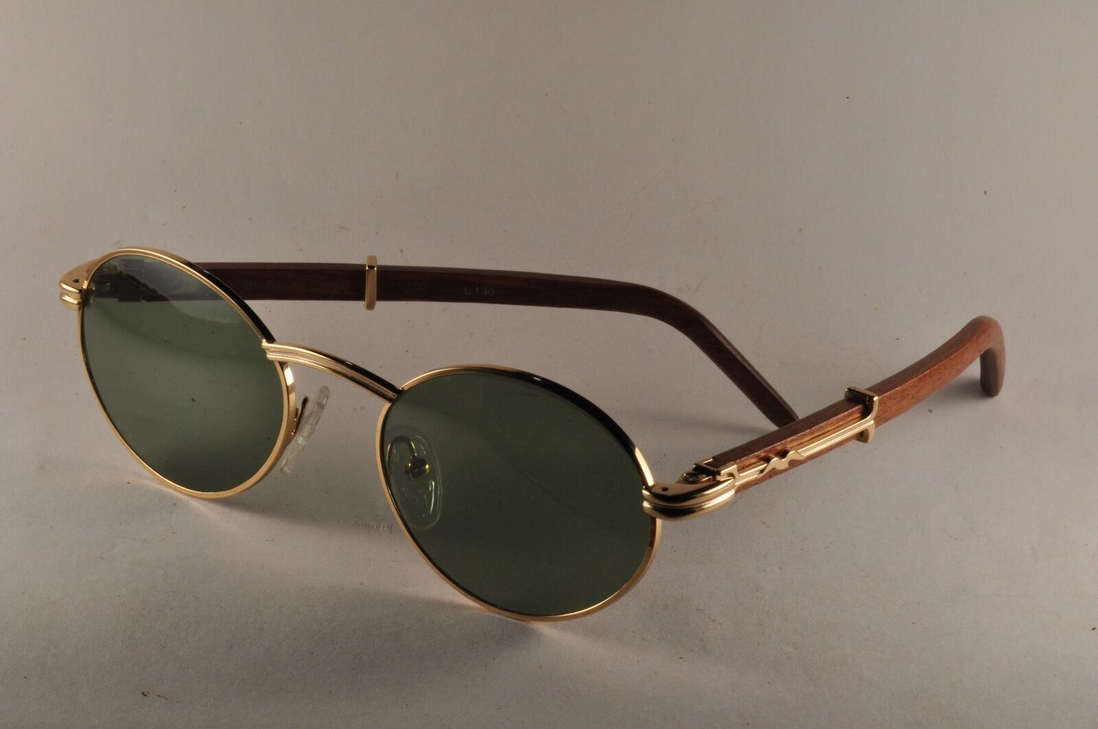 Vintage Sunglasses Kashab 06 by Seagull WOOD 51[ ]19 -- similar giverny
