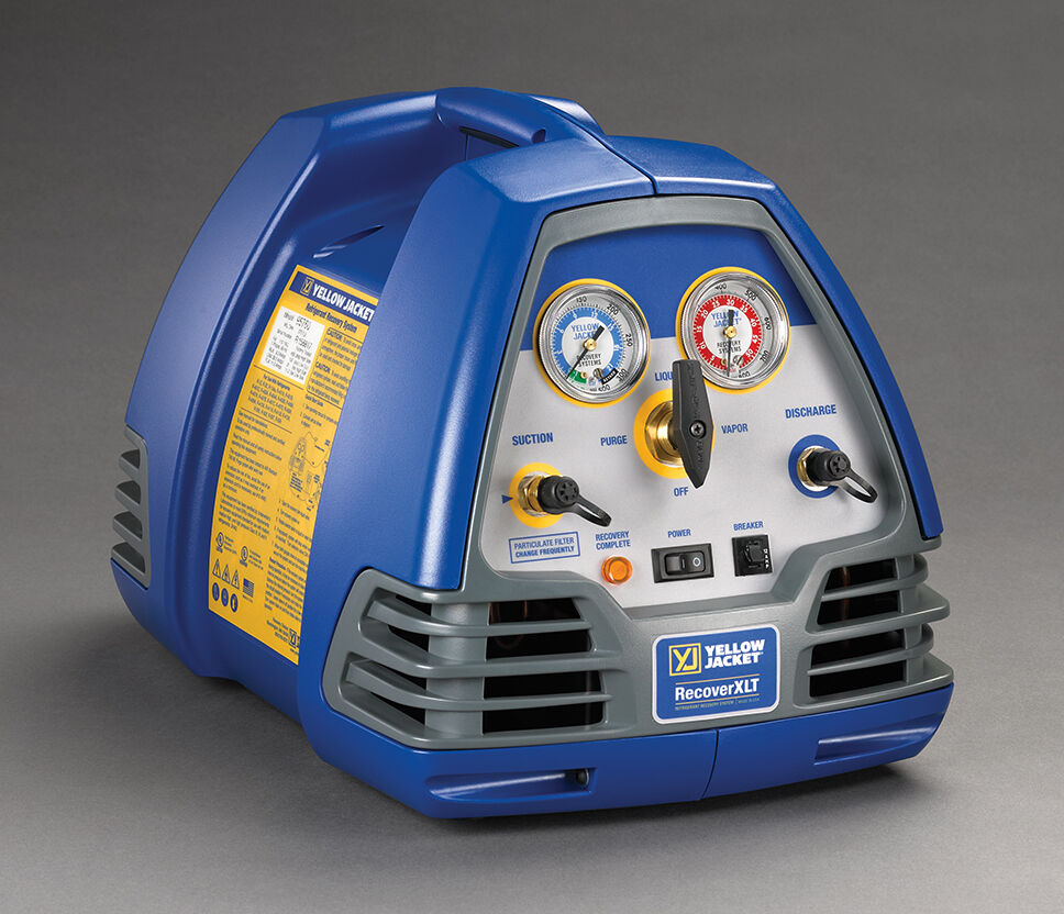 Yellow Jacket 95760 - RecoverXLT Refrigerant Recovery Machine 2016 / 2017 Model