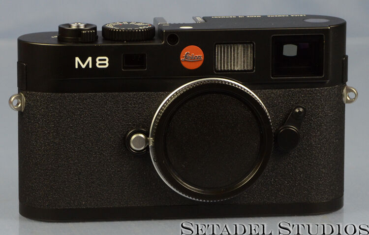 LEICA M8 PROTOTYPE BLACK RANGEFINDER CAMERA BODY SERIAL N.000052 NEAR MINT